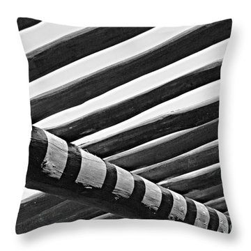 Under The Palapala Throw Pillow