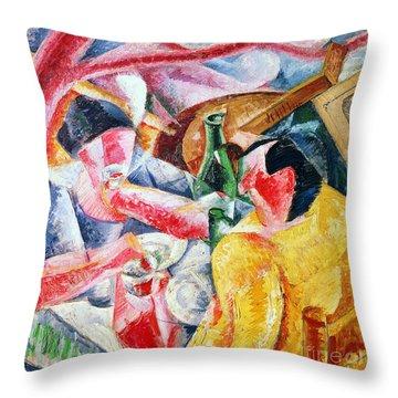 Under The Pergola At Naples Throw Pillow