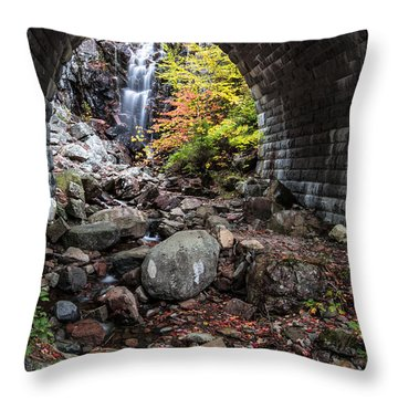 Under The Road Throw Pillow by Jon Glaser
