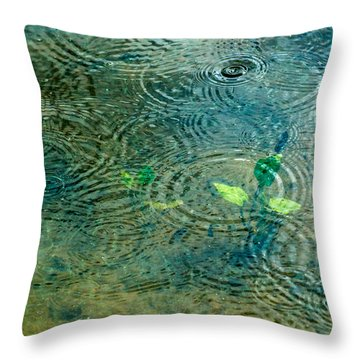 Under The Sea - Featured 3 Throw Pillow by Alexander Senin