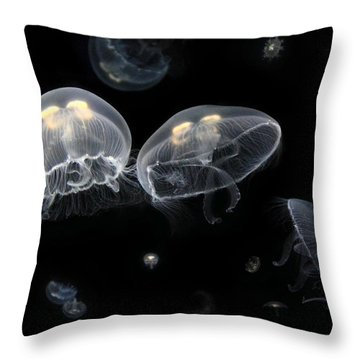 Under The Sea Throw Pillow by Lori Deiter
