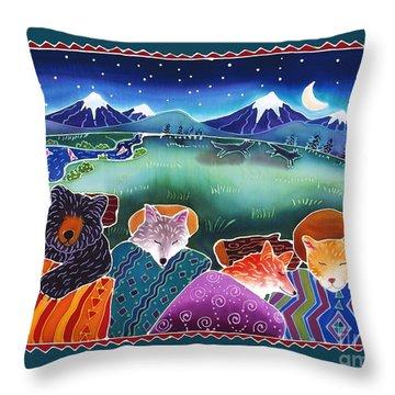 Fox River Throw Pillows