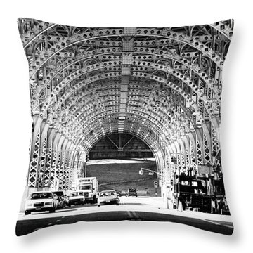 Under The West Side Highway Throw Pillow