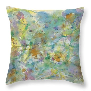 Under Water Heaven Throw Pillow
