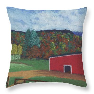 Undermountain Autumn Throw Pillow