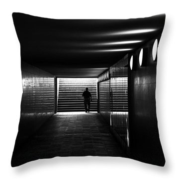 Underpass Berlin Throw Pillow