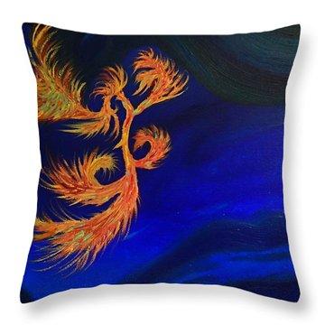 Undersea 1 Throw Pillow by Robert Nickologianis