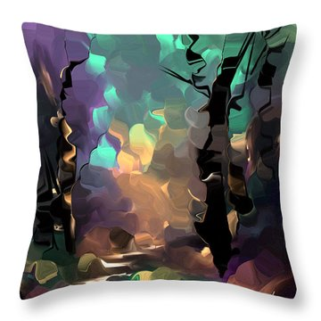 Understanding In Color Throw Pillow by Steven Lebron Langston