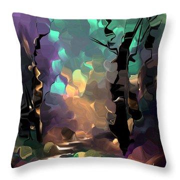 Understanding In Color Throw Pillow