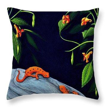 Understory Throw Pillow