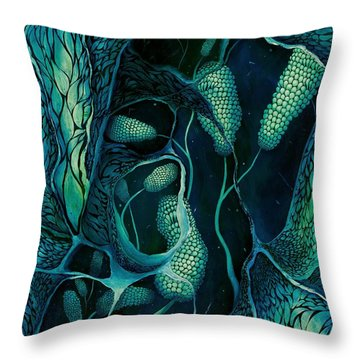 Underwater Revelation Throw Pillow