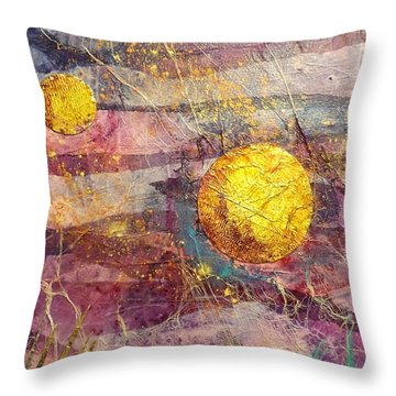 Underwater Universe Throw Pillow