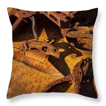 Unemployed Throw Pillow by Scott Campbell