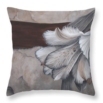 Unexpectedly Yours Throw Pillow by Karlyn Holloway
