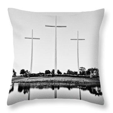 Unfailing Love Throw Pillow by Scott Pellegrin