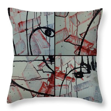 Throw Pillow featuring the photograph Unfaithful Desire Part One by Sir Josef - Social Critic - ART