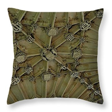 Unfinished Business Throw Pillow by Joseph Yarbrough