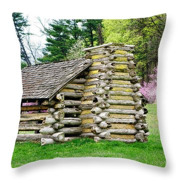 Unfinished Shelter Throw Pillow