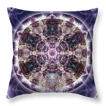 Unfoldment Throw Pillow
