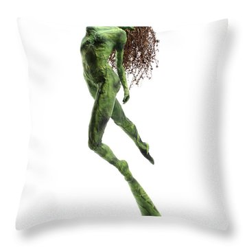 Unfurled Throw Pillow by Adam Long