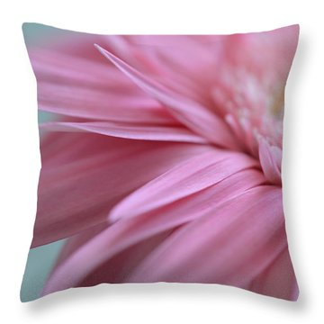 Throw Pillow featuring the photograph Unfurling Petals by Melanie Moraga