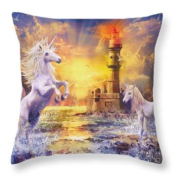 Unilight Throw Pillow