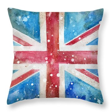 Union Jack Throw Pillow