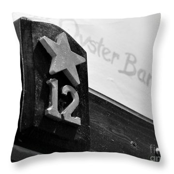 Union Oyster House Booth Boston Ma Throw Pillow