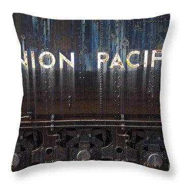 Union Pacific - Big Boy Tender Throw Pillow