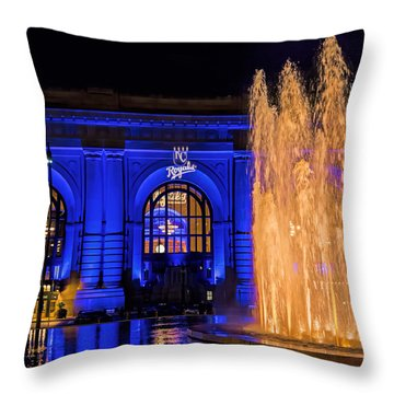Union Station Celebrates The Royals Throw Pillow
