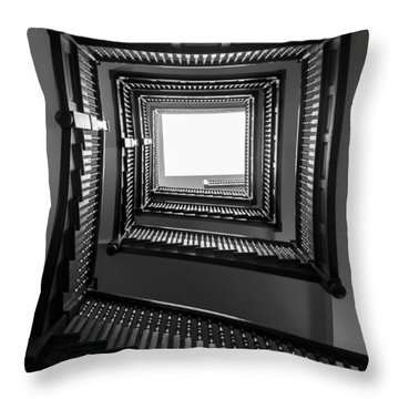 Union Station Hotel Stairway Throw Pillow