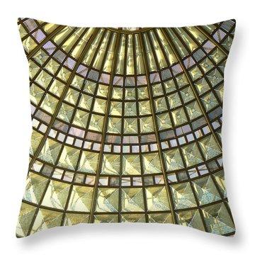 Union Station Skylight Throw Pillow by Karyn Robinson