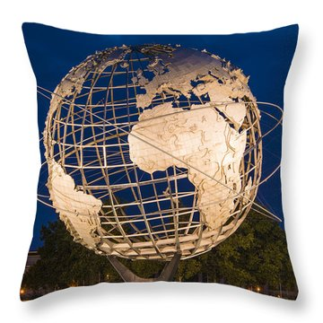 Unisphere Nights Throw Pillow
