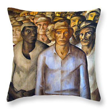 Unite Throw Pillow by Joe Schofield