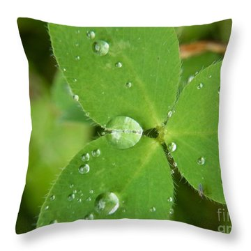 Throw Pillow featuring the photograph United By Feeling by Agnieszka Ledwon
