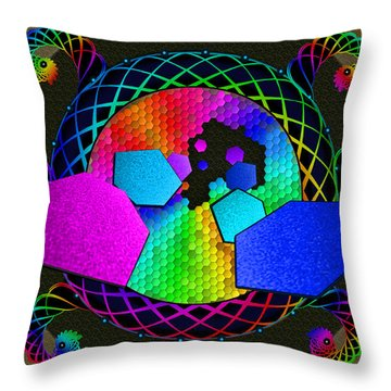 United Diversity Throw Pillow
