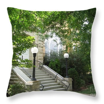 United Methodist Church  Throw Pillow