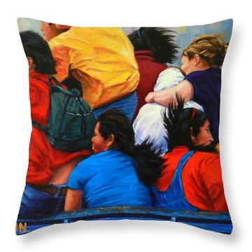 United, Peru Impression Throw Pillow