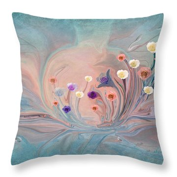 United We Stand For Peace Throw Pillow
