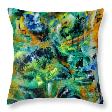 Virtual Throw Pillow