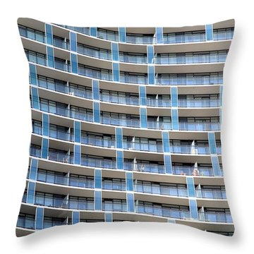 Units Throw Pillow by Valentino Visentini