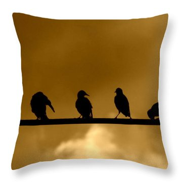 Unity Is Strength Throw Pillow by France Laliberte