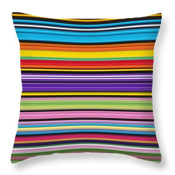 Unity Of Colour 1 Throw Pillow by Tim Gainey