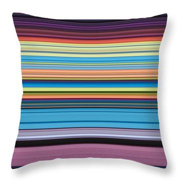 Unity Of Colour 4 Throw Pillow by Tim Gainey