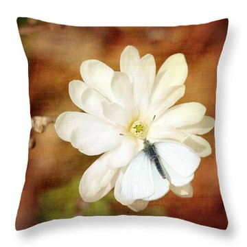 Throw Pillow featuring the photograph Unity by Trina  Ansel