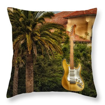 Universal Guitar Throw Pillow