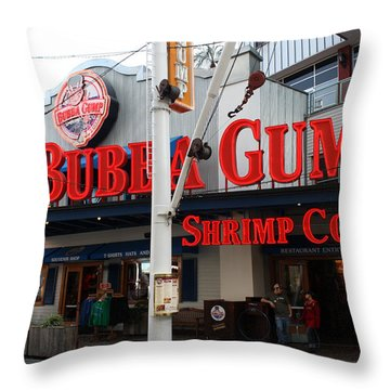 Universal Gump Throw Pillow