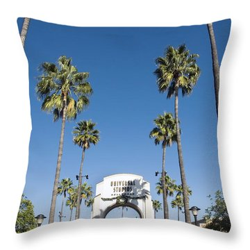 Universal Studios Red Carpet Throw Pillow by David Zanzinger