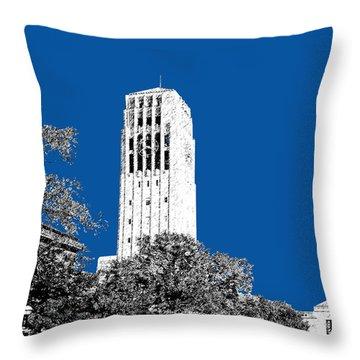 University Of Michigan - Royal Blue Throw Pillow