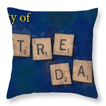 University Of Notre Dame Throw Pillow